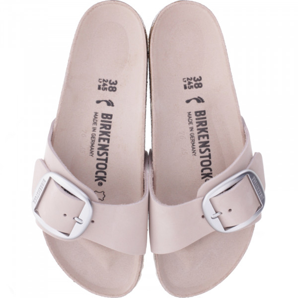 Birkenstock / Modell: Madrid Big Buckle / Light Rose / Weite: Schmal / Art: 1015800 / Damen