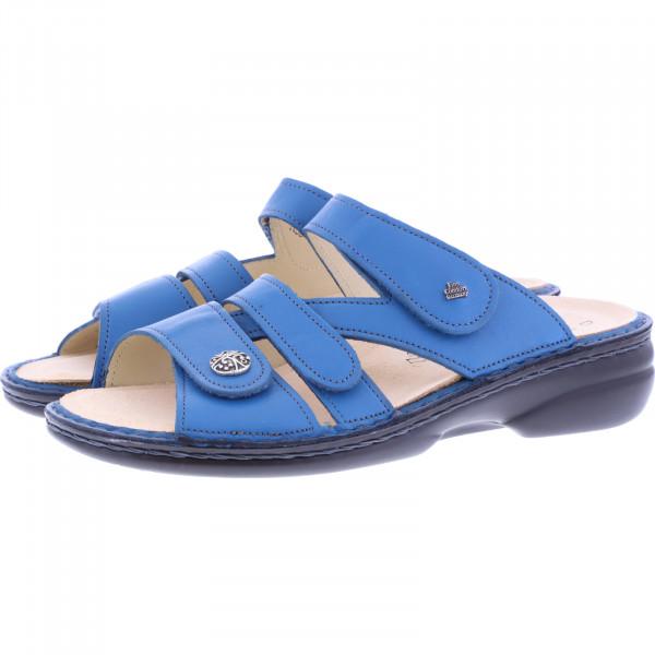 Finn Comfort / Ventura-Soft / Petrol Blau / Wechselfußbett / Art: 82568-696409 / Damen Pantolette