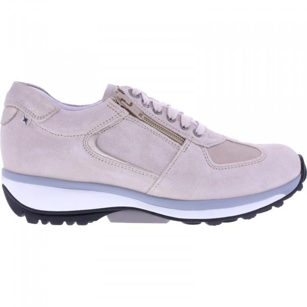 Xsensible Stretchwalker / Modell: Chelsea / Nude Beige Leder / Art: 301012-470 / Damen Sneakers