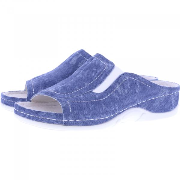 Berkemann / Modell: Isabella / Washed Jeans Blau / Leisten: Sydney / Art: 01105-309 / Damen