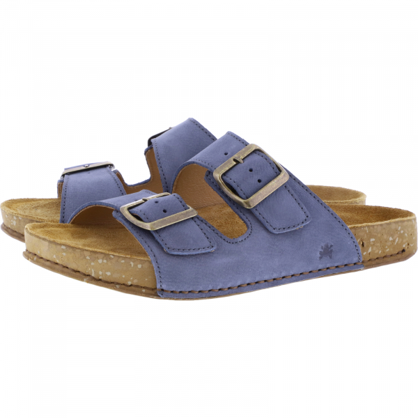El Naturalista / Modell: N5794 Balance / Farbe: Vaquero Blau Leder / Unisex Pantoletten