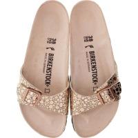Birkenstock / Modell: Madrid / Metallic Stones Copper / Weite: Schmal / Art: 1006693 / Damen Sandale