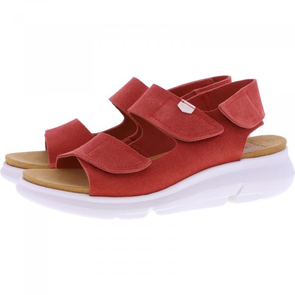 OnFoot / Modell: Bora / Farbe: Teja Rot Leder / Art.: 90004 / Damen Sandalen
