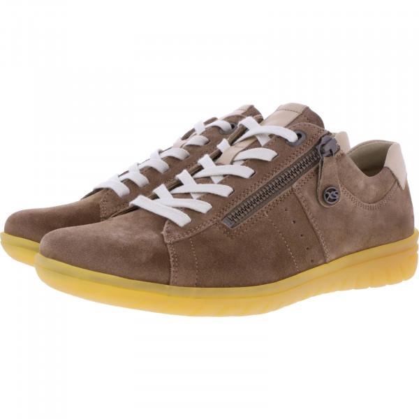 Hartjes / Modell: XS Casual / Camel/Sahara Leder / Weite: G / 88162-3408 / Damen Sneakers