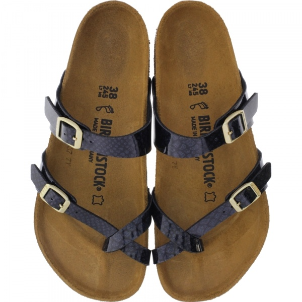 Birkenstock / Modell: Mayari / Magic Snake Black / Weite: Normal / Art: 1009103