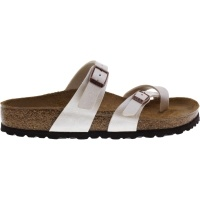 Birkenstock / Modell: Mayari / Graceful Pearl-White / Weite: Normal / Art: 071661 / Zehentrenner