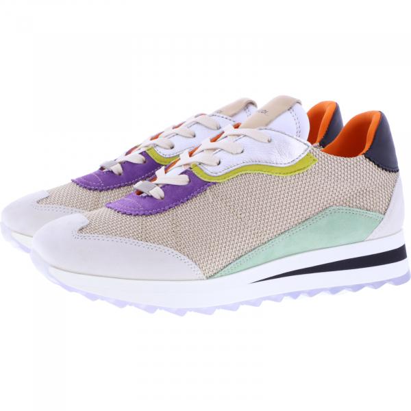 Piedi Nudi / Modell: H-Fit Sneaker / Farbe: Beige Combi Bunt / Art.: 2487-0702 / Damen