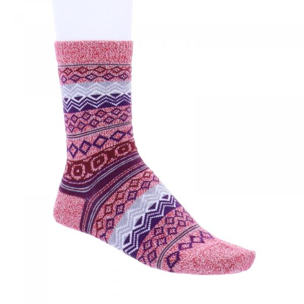 Birkenstock Damen Socken - Cotton Jacquard - Faded Rose