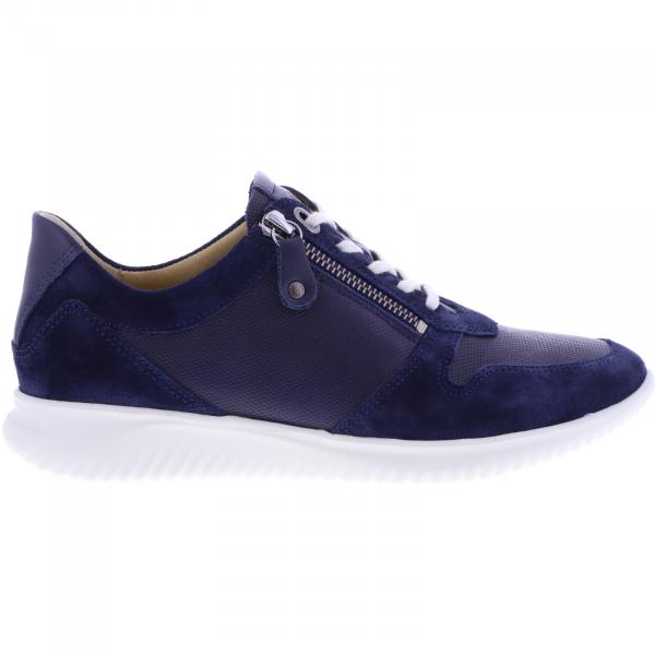 Hartjes / Modell: Breeze I / Dunkelblau Leder / Weite: G / 112262-4747 / Damen Sneakers