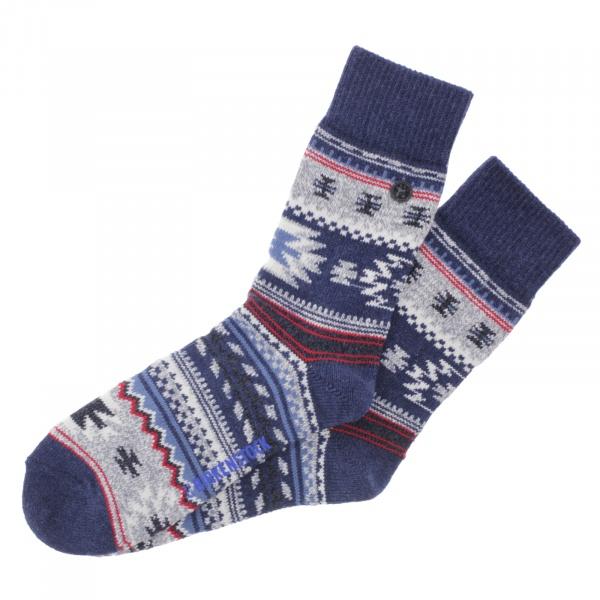 Birkenstock Herren Socken - Cotton Kelim - Jeans-Melange