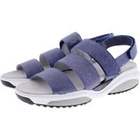 Xsensible Stretchwalker / Modell: Paros / Jeans-Metal / Leder / Art: 300525-257 / Damen Sandalen