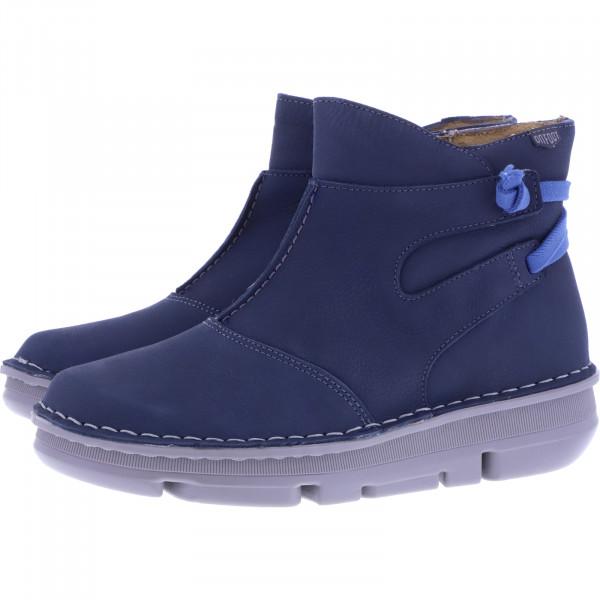 OnFoot / Modell: Touch Zen High Slip / Farbe: Marino Blau Leder / Art.: 29109 / Damen Stiefeletten