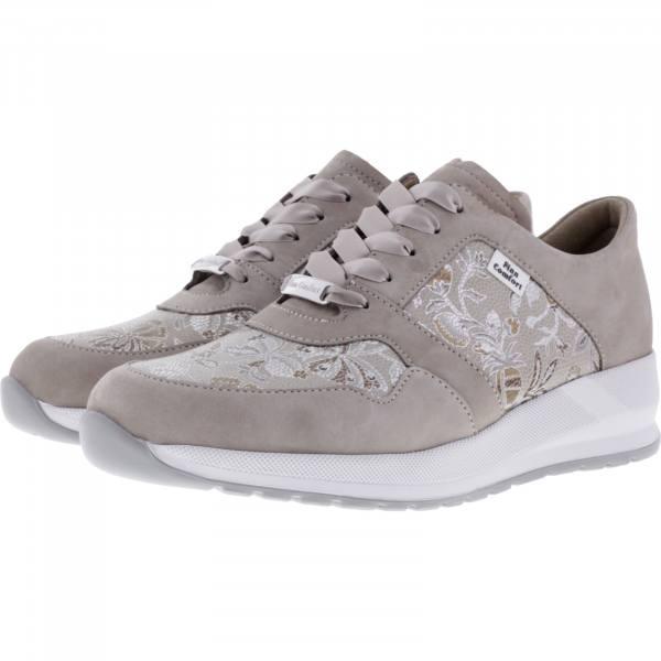 Finn Comfort / Drena / Ecru-Sand / Wechselfußbett / Art: 03613-901943 / Damen Sneakers