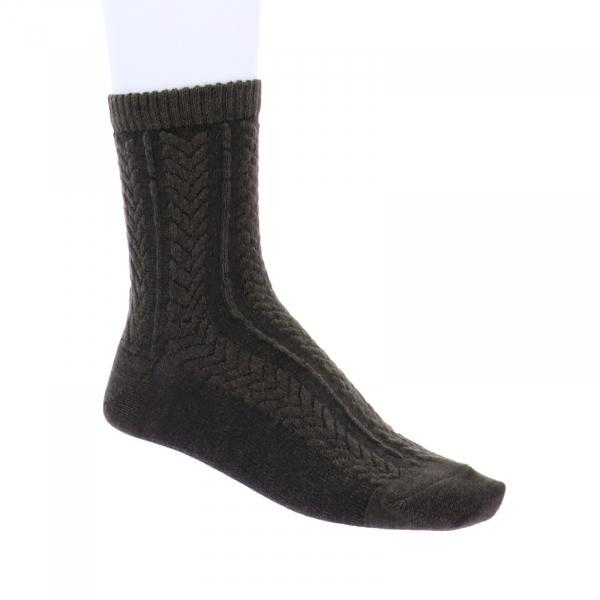 Birkenstock Damen Socken - Cable-Knit - Bungee Cord - Dunkelbraun
