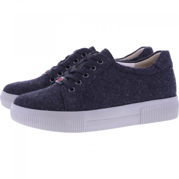 Berkemann / Modell: Fae Recycled / Schwarz / Form: Capri / Art: 05001-989 / Damen Sneakers