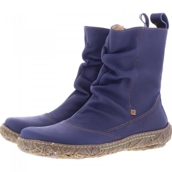 El Naturalista / Modell: N722 Nido / Farbe: Soft Grain Ocean Leder/Futter / Damen Stiefelette