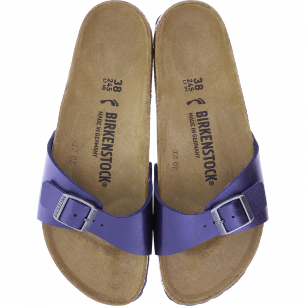 Birkenstock / Modell: Madrid / Graceful Midnight Blue BF / Weite: Schmal / Art: 1018970 / Damen