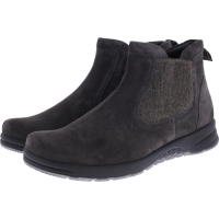Ganter / Gloria / Anthrazit Casualvelour / Weite: H / Kalbsleder / Art: 6-207822-6200 / Damen Stiefeletten