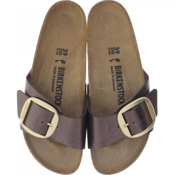 low priced 11e5f dbf50 Birkenstock / Modell: Madrid Big Buckle / Graceful Toffee Braun / Weite:  Schmal / Art: 1015313