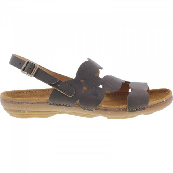 El Naturalista / Modell: N5223 Torcal / Farbe: Soft Grain Olive Leder / Damen Sandalen