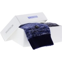 Birkenstock Damen Socken X-Mas Box Multi - Cotton Socken 2-Pack - Blau-Schwarz