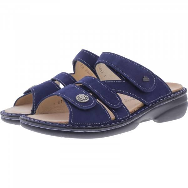 Finn Comfort / Ventura-Soft / Atoll Blau / Wechselfußbett / Art: 82568-007414 / Damen Pantoletten