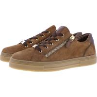Hassia / Bilbao / Hazel-Bronze Leder / Wechselfußbett / Art: 2-301234-2370 / Damen Sneakers
