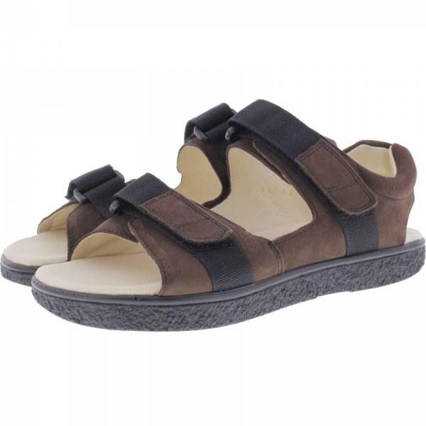 Jacoform / Modell: 379 / Braun Nubukleder / Unisex Sandale