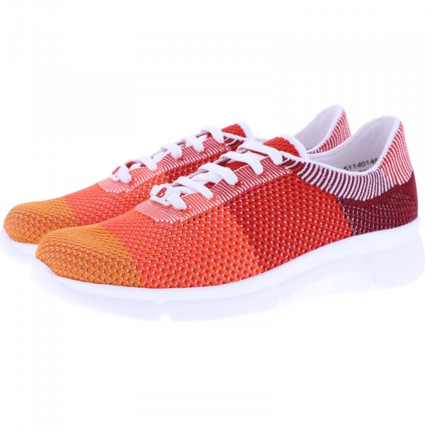 Berkemann Comfort Knit / Modell: Niki / Multicolor Orange / Form: Marbella / Art: 05114-014 / Damen