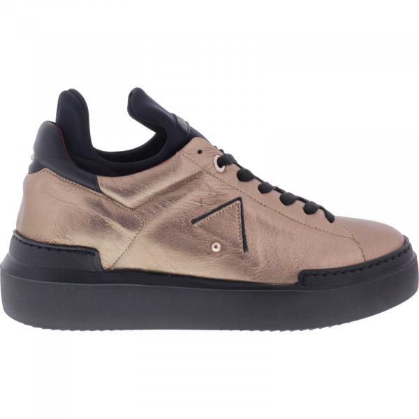 Ed Parrish Sneakers / Modell: Elisa High / Bronze-Schwarz / Wechselfußbett / Damen Sneakers