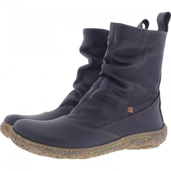 El Naturalista / Modell: N722 Nido / Farbe: Soft Grain Black Leder/Futter / Damen Stiefelette