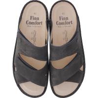 Finn Comfort / Danzig Soft / Grey Impala / Wechselfußbett / Art: 81529-518218 / Herren Pantoletten