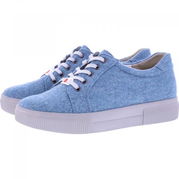 Berkemann / Modell: Fae Recycled / Hellbau / Form: Capri / Art: 05001-317 / Damen Sneakers