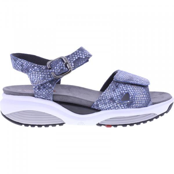 Xsensible Stretchwalker / Modell: Syros / Jeans Snake / Leder / Art: 303045-266 / Damen Sandalen
