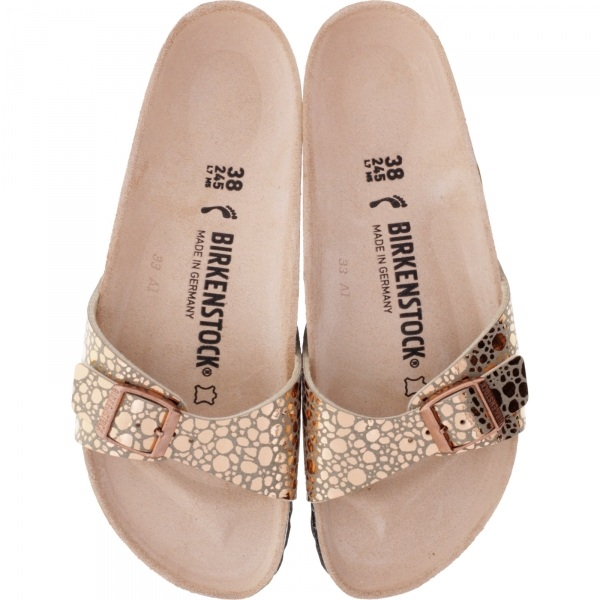 finest selection 15d1d c1c19 Birkenstock / Modell: Madrid / Metallic Stones Copper / Weite: Schmal /  Art: 1006693 / Damen Sandale