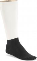 Birkenstock Herren Sneaker Socken - Cotton Sole Sneaker 2-Pack - Schwarz 39-41 EU