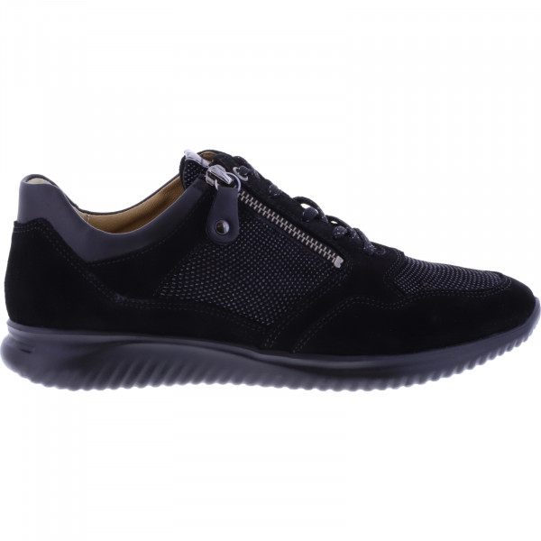 Hartjes / Modell: Breeze I / Schwarz Nubukleder / Weite: G / 112762-0101 / Damen Sneakers