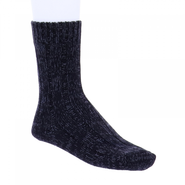 Birkenstock Damen Socken - Cotton Twist - Schwarz Meliert