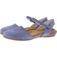 El Naturalista / Modell: N412 Wakataua / Farbe: Pleasent Vaquero Blau Leder / Damen Ballerinas