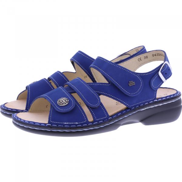 Finn Comfort / Gomera / Kobalt Blau / Wechselfußbett / Art: 02562-007440 / Damen Sandalen