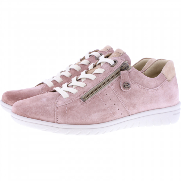 Hartjes / Modell: XS Casual / Altrosa/Schlamm Leder / Weite: G / 88962-4635 / Damen Sneakers