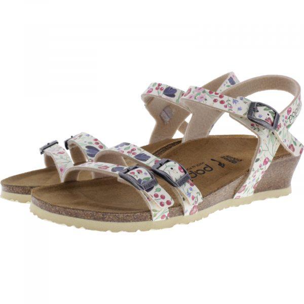 Papillio / Modell: Lana / Meadow Flowers Beige / Art: 1013561 / Damen Sandaletten