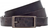 Birkenstock Gürtel / Modell: Ohio / Breite: 20mm / Dunkelbraun Leder / Unisex One-Size