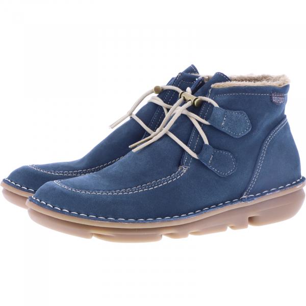 OnFoot / Modell: Silken High / Farbe: Petrolle Blau Leder / Art.: 30500 / Damen Stiefletten