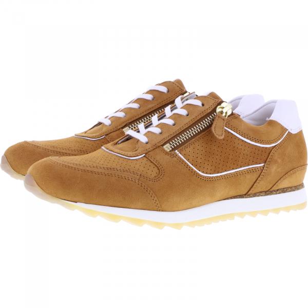 Hassia / Barcelona / Hazel Braun-Milk Leder / Wechselfußbett / Art: 1-301919-2906 / Damen Sneakers