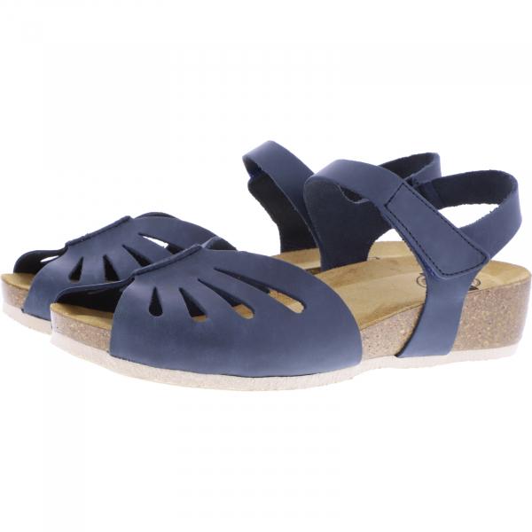 Brako / Modell: Creta / Azul-Blau Leder / Art: 203 / Damen Sandalen