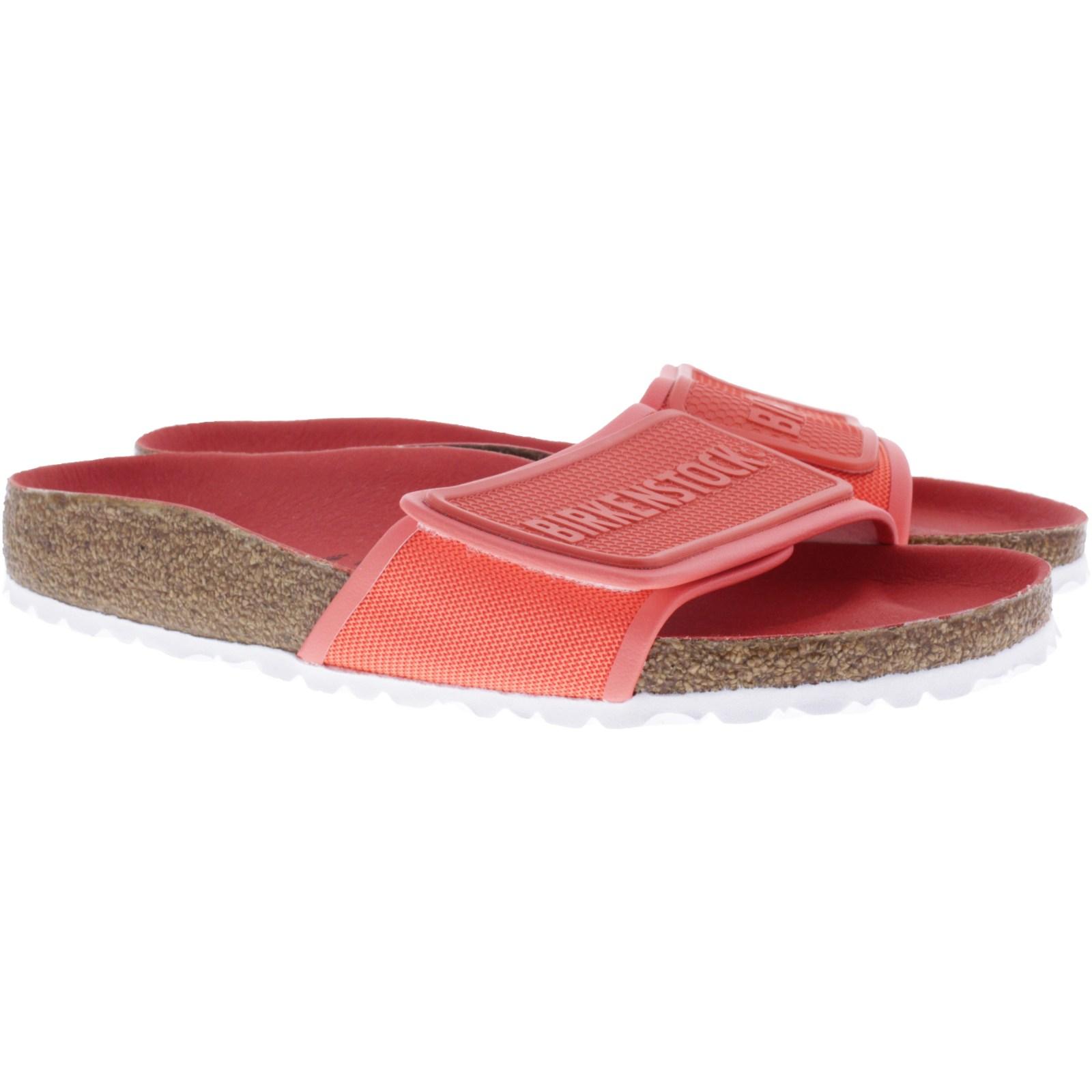 Birkenstock Modell: Tema Coral Rot Weite: Schmal Art: 1013231 Damen Pantoletten