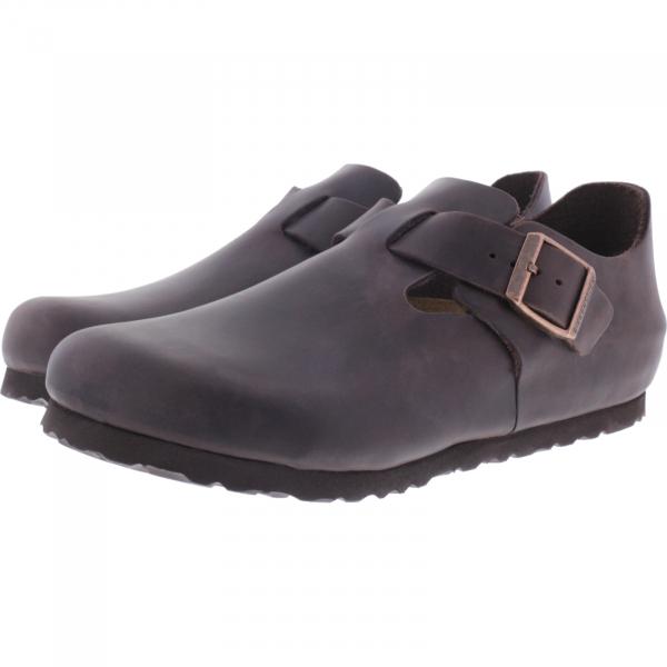 wholesale dealer 80077 373d6 Birkenstock / Modell: London / Habana Nubukleder / Weite: Normal / Art:  166531 / Unisex Schuhe