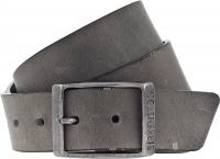 Birkenstock Gürtel / Modell: Kansas / Breite: 35mm / Grau Leder / Unisex Gürtel One-Size