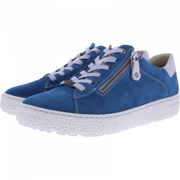 Hartjes / Modell: Phil / Petrol Nubukleder / Weite: H / 140162-6919 / Damen Sneakers